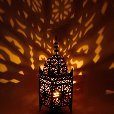 Moroccan Metal Cut Out Light