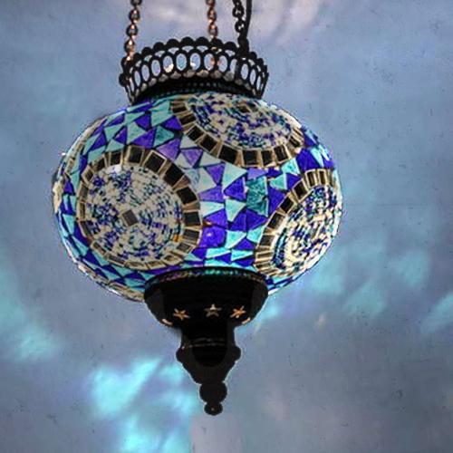 Mosaic Ceiling Pendant Globes La Casa Bella