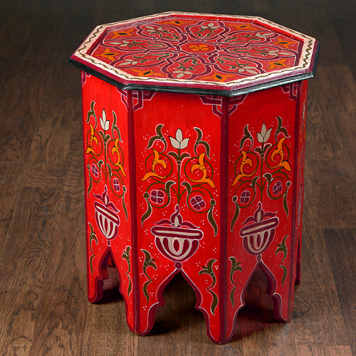Moroccan Painted Table
