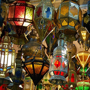 Bella Lámparas marroquíesmulticolorLa de Casa techo 35A4qRcjL