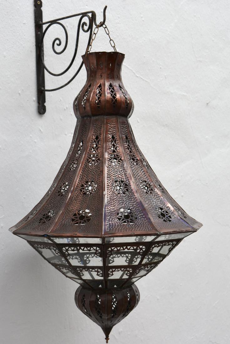 Moroccan Coloured Glass Ceiling Lights La Casa Bella