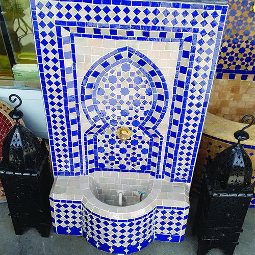 Mesa mosaico marroqui diy cmo hacer una mesa al aire - Mesas mosaico segunda mano ...