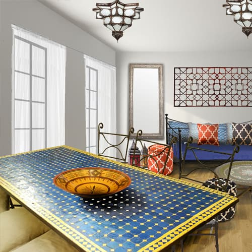 Moroccan 1 Bedroom Furniture Package